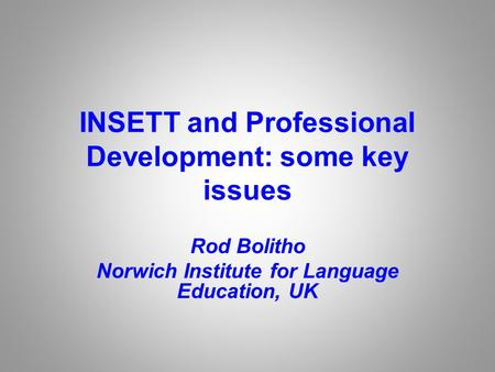 Exploring Linguistic Diversity