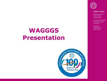 WAGGGS Presentation. History of WAGGGS Robert Baden-Powell 1st Baron Baden-Powell Agnes Baden-Powel.