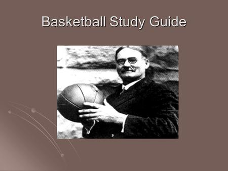 Basketball Study Guide