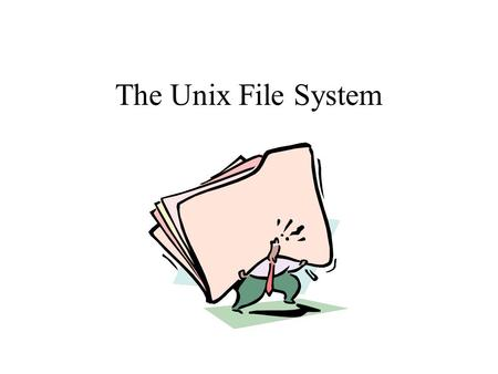 The Unix File System. What are the three parts of every file on a Unix filesystem? And where is each stored? Filename - stored in directories Inode -