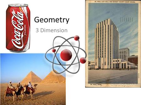 Geometry 3 Dimension.