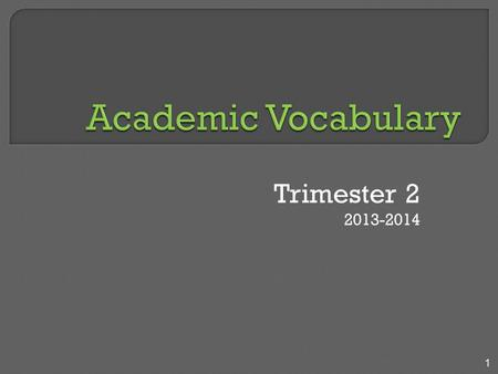 Trimester 2 2013-2014 1. 2 I found nine errors. Journal: Write the words or phrases, correcting the errors.