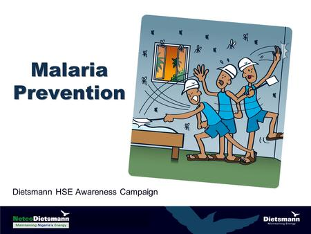 Malaria Prevention Dietsmann HSE Awareness Campaign.