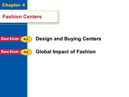 Design and Buying Centers