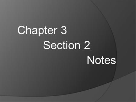 Chapter 3 Section 2 Notes. Fluid  Any substance that has the ability to flow (move on its own) Two States ○ ____________  Can flow because their particles.