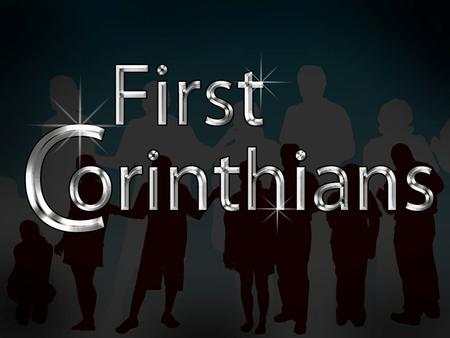 1 Corinthians Themes Unity/oneness in the local church Relationships in the local church Righteous living/church discipline Interacting with unbelievers/marriage.