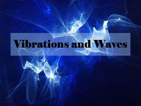 Vibrations and Waves. SoundSection 1 What do you think? What is sound? What do all of the sounds that you hear have in common? How do they differ? Can.