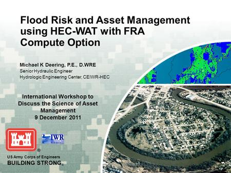 International Workshop to Discuss the Science of Asset Management