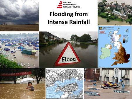 Flooding from Intense Rainfall. Seven Science Themes.