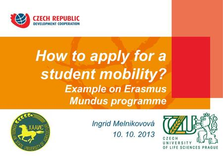 How to apply for a student mobility