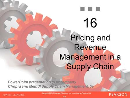 Pricing and Revenue Management in a Supply Chain