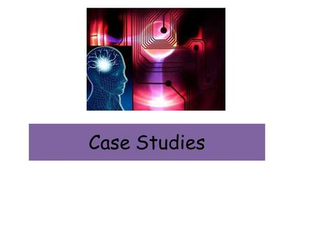 Case Studies. What is a case study? A case study is a detailed study of one individual or event. Many different psychological techniques can be used (e.g.,