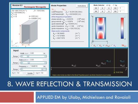 8. Wave Reflection & Transmission