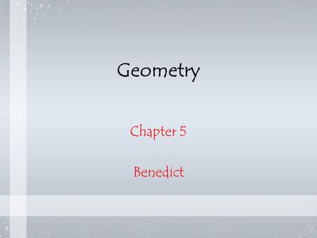 Geometry Chapter 5 Benedict. Vocabulary Perpendicular Bisector- Segment, ray, line or plane that is perpendicular to a segment at its midpoint. Equidistant-