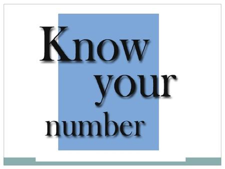 Natural Number The counting numbers 1, 2, 3, 4, … are called natural numbers.