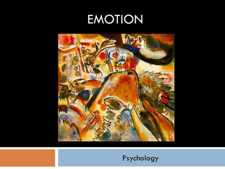 Psychology EMOTION. Would you like never to be sad again?  Ordered Sharing  Sit in a closed circle  Reflect on a question  When someone is ready in.