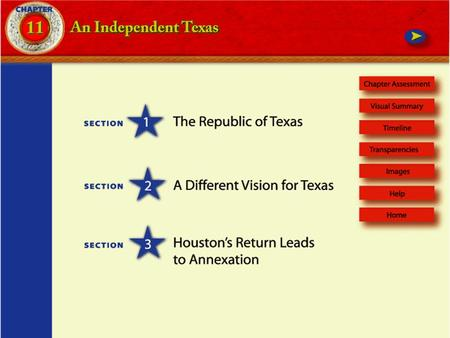 TIMELINE 1836–   Sam Houston is elected first president of Republic of Texas 1838 Mirabeau Lamar is elected president of.