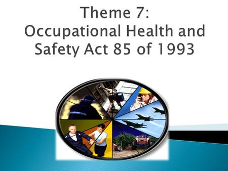  To provide for the health and safety of persons at work and for the health and safety of persons in connection with the use of plant and machinery;
