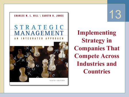 13 Implementing Strategy in Companies That Compete Across Industries and Countries.