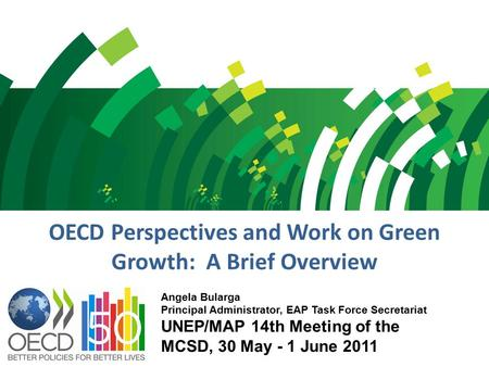 OECD Perspectives and Work on Green Growth: A Brief Overview