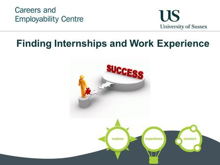 Finding Internships and Work Experience. What will we cover? What is it? Why do it? The schemes Doing it yourself Making contact How can we help?