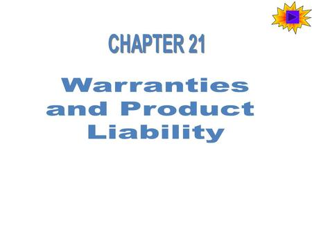 Product Liability When goods cause injury, there is a question of product liability. There are three main issues related to product liability cases: –