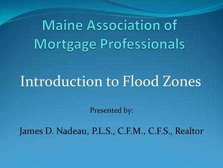 Maine Association of Mortgage Professionals