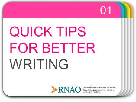 WINTER Template QUICK TIPS FOR BETTER WRITING 01.