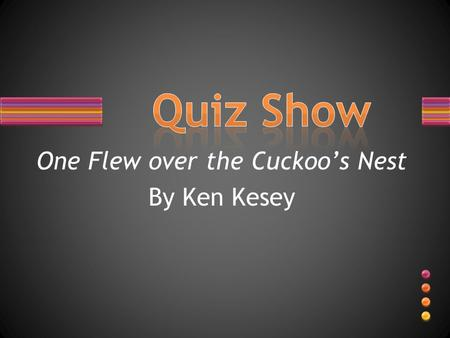 One Flew over the Cuckoo's Nest By Ken Kesey. Name the character that matches the description.