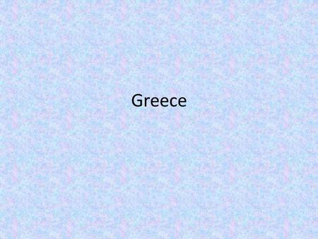Greece. Geography Mainland is a mountainous peninsula. Coastline has excellent harbors. Trade and colonization resulted. Brought back ideas from other.