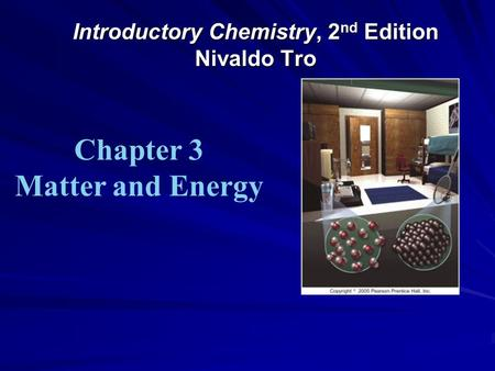 Tro Introductory chemistry 3nd Edition Solution manual pdf