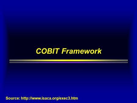 ti bisnis itg using cobit amp ppt video online download