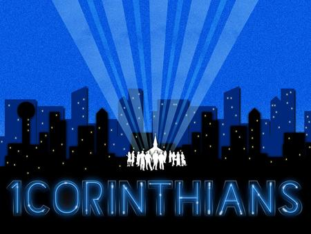 """an analysis of corinthians Paul's purposes for writing the corinthians were several his first  lowery, david k, """"1 corinthians,"""" the bible knowledge commentary, ed."""