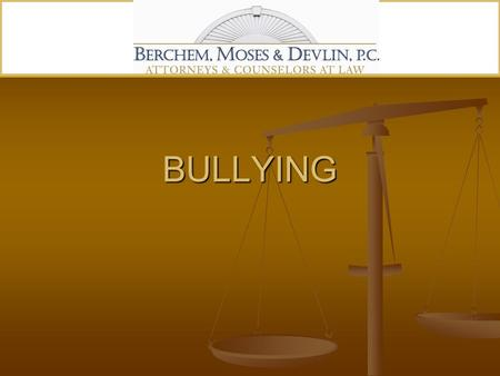 BULLYING. THRESHOLD PROBLEM RELUCTANCE TO REPORT BY VICTIMS AND WITNESSES.