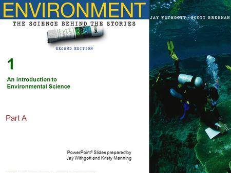 1 Part A An Introduction to Environmental Science