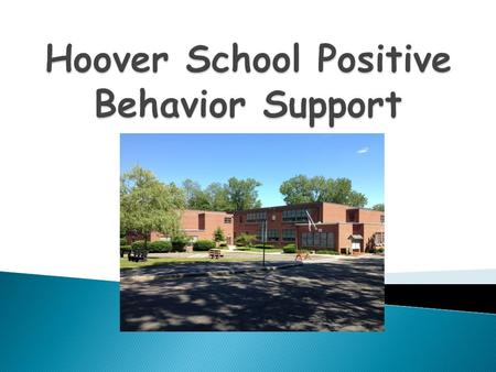 Hoover Elementary School.  Increase in discipline issues  Lack of consistent expectations and consequences  Schools need to address social skills and.
