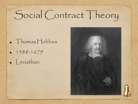 Thomas Hobbes' Leviathan: Justice, and the Social Contract