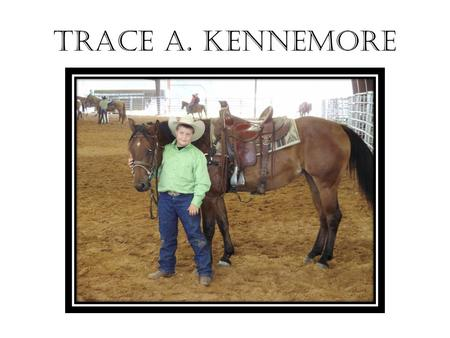 TRACE A. KENNEMORE. THE CADDOE INDIANS SHELTER PROJECT.