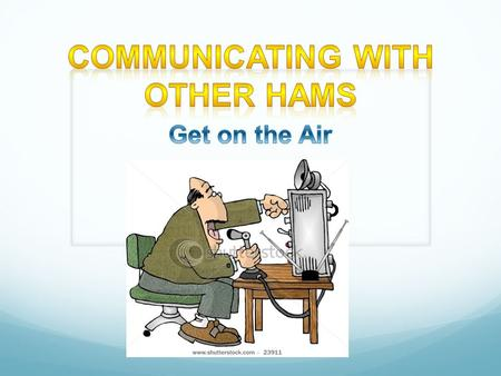 Social nets Least formal and most common Traffic The original net. Established the NTS Passes traffic from station. ARRL Emergency and public service.