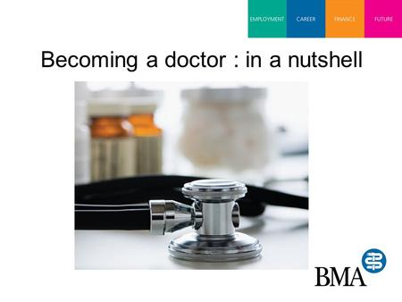 Becoming a doctor : in a nutshell. Qualifications Entry to medical school… Good GCSE's Three A Levels Entry requirements vary between medical schools.