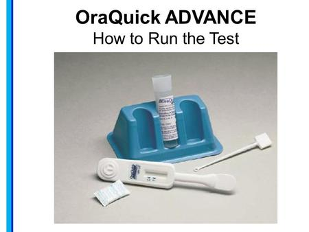 Oraquick hiv test how to use