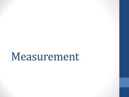 Measurement. Volume – Regular Shaped Object You can find the volume of a solid by multiplying length, width, and height together. Formula : V = l x w.