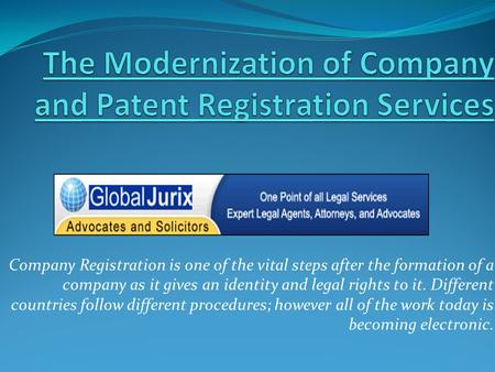 Company Registration is one of the vital steps after the formation of a company as it gives an identity and legal rights to it. Different countries follow.