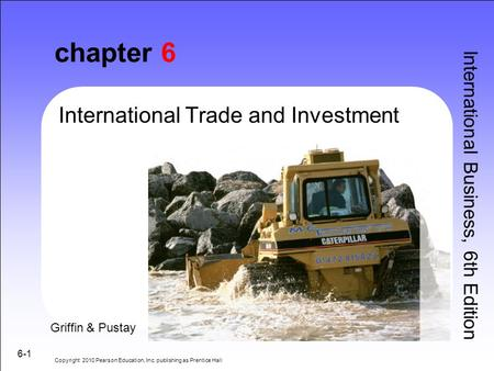chapter 6 International Trade and Investment