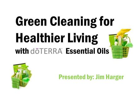 Green Cleaning for Healthier Living