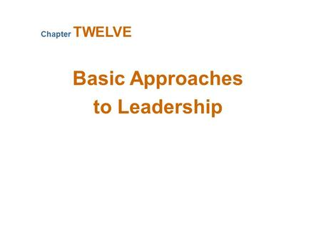 What Is Leadership? Leadership Management