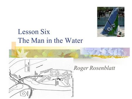 the man in the water by roger rosenblatt summary
