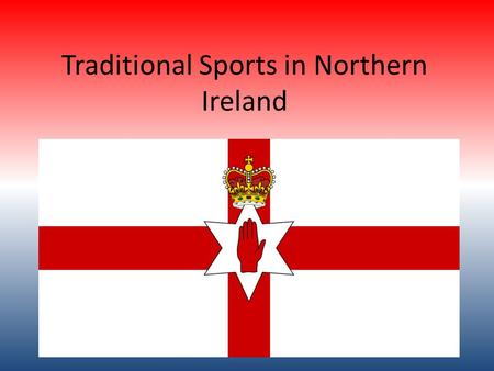 Traditional Sports in Northern Ireland. Football The Northern Ireland national football team represents Northern Ireland in international football association.