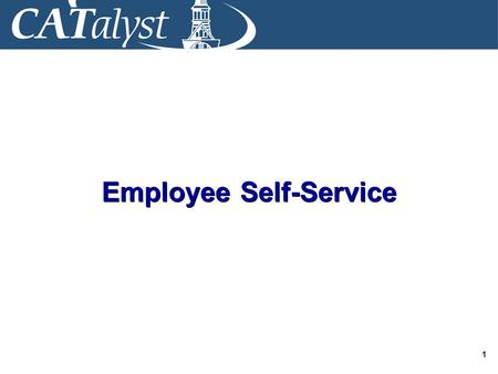 1 Employee Self-Service. 2 Welcome and Introductions Instructor(s) Bathrooms Exits Q&A Format.