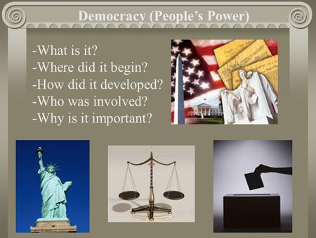 Democracy (People's Power)